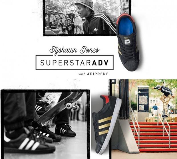 Scarpe Adidas Superstar Vulc Adv Nero / Oro / Rosso IA9S8cP09S