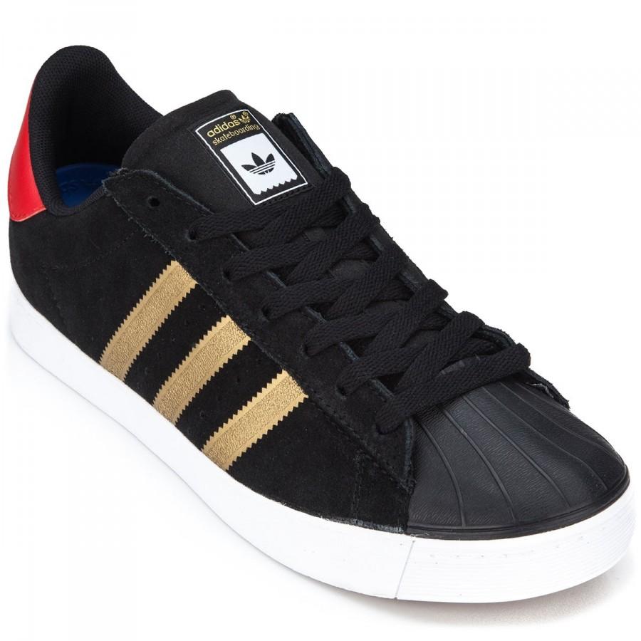 dd44fdeb3182 adidas-superstar-vulc-adv-shoes-black-metallic-gold-red-1.1443796572 ...