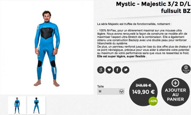 mystic majestic fullsuit bz