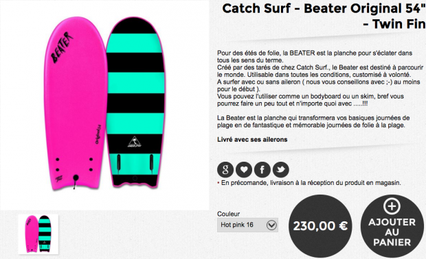 catch surf beater original
