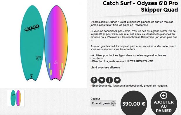 catch surf odysea skipper