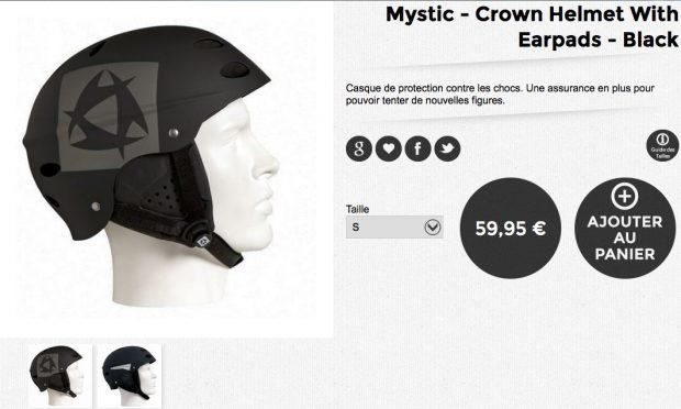 mystic crown helmet