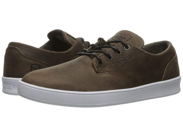 chaussure-emerica-romero-laced-x-eswic-brownwhite