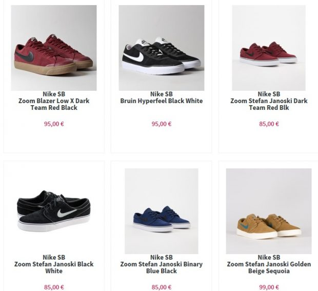 Nos produits Nike