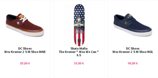 Boutique wes kremer