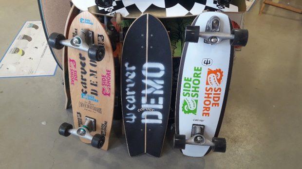 Les boards de test Carver