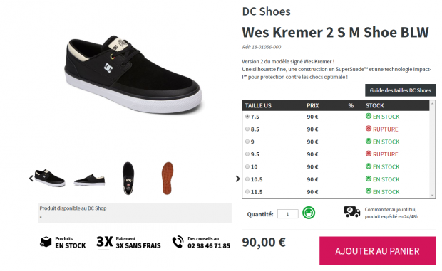 Wes kremer Dc shoes