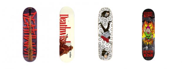 Deathwish skateboard deck
