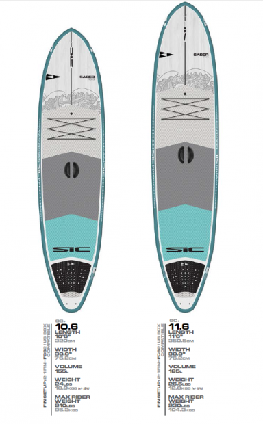gamme saber sic cruising surf sup