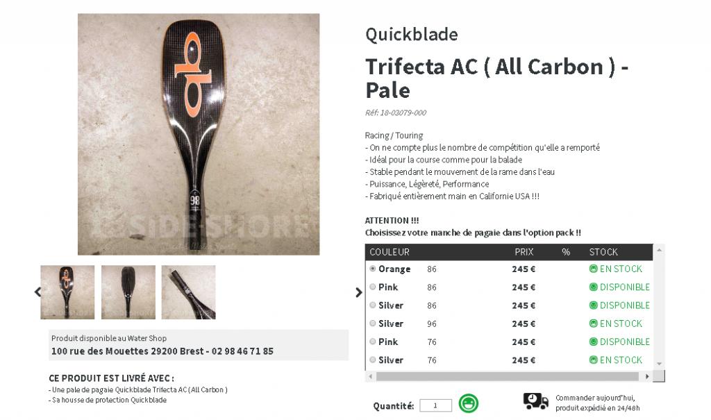 quickblade trifecta