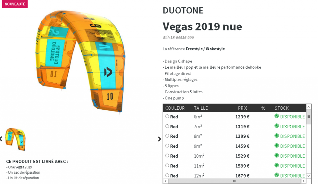 vegas 2019 duotone