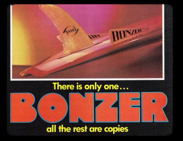 Bonzer surfboard