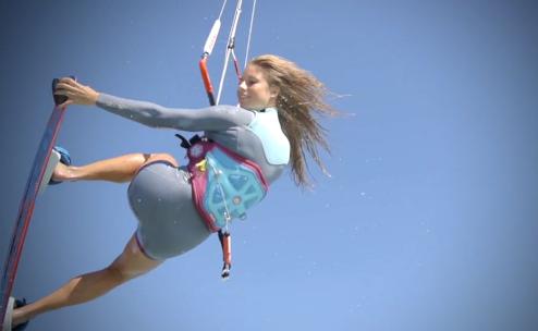 Manera kiteboarding
