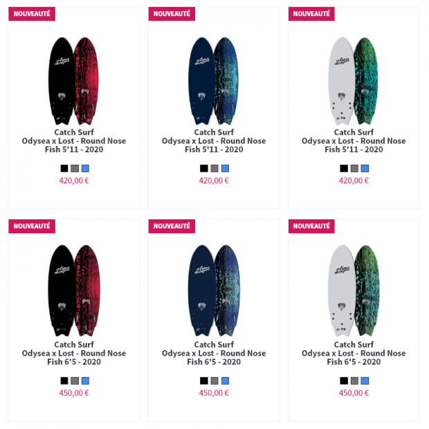 lost surfboards soft