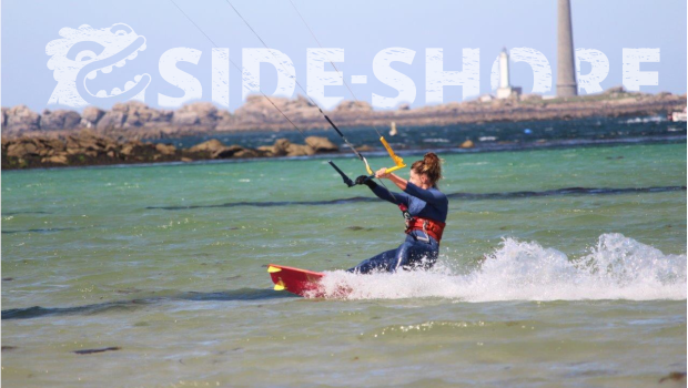 Team Side Shore kite